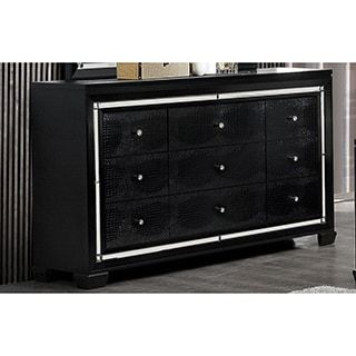 Metallic Black Galaxy Dresser