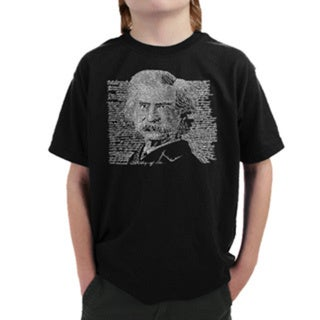 LA Pop Art Boys Mark Twain T-Shirt