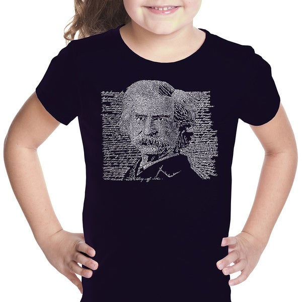 LA Pop Art Girls Mark Twain T-Shirt