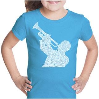LA Pop Art Girls Jazz Greatest Hits T-Shirt