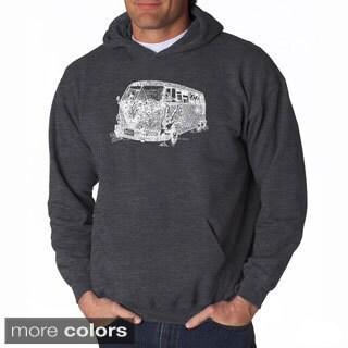 LA Pop Art Men's The 70's Hooded Sweatshirt
