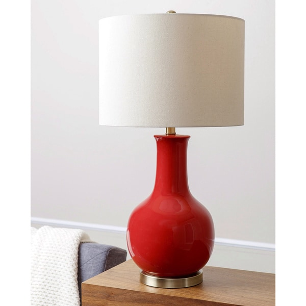 Red Table Lamps For Living Room