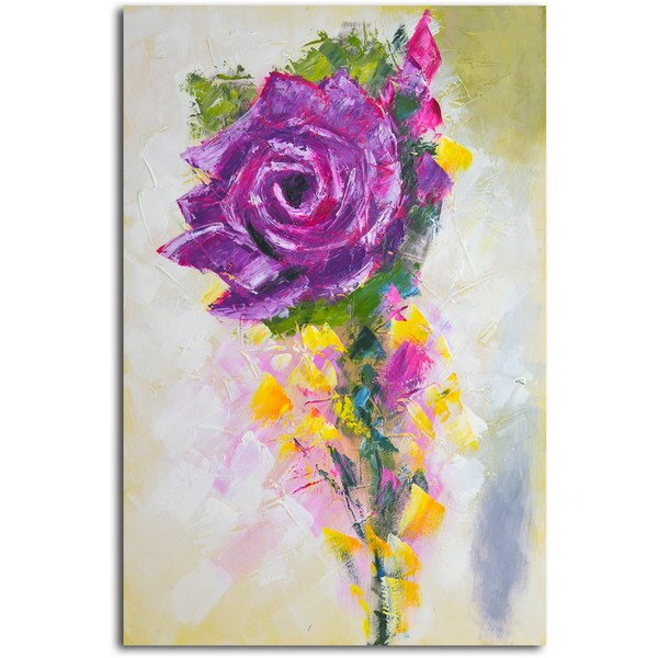 'A Rose by Any Other Color' Original Painting on Canvas