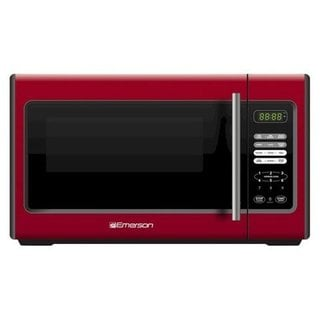 Emerson MW9338RD Red 0.9 cu ft. Microwave (Refurbished)