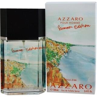 Azzaro Pour Homme Summer Mens 3.4-ounce Eau de Toilette Spray