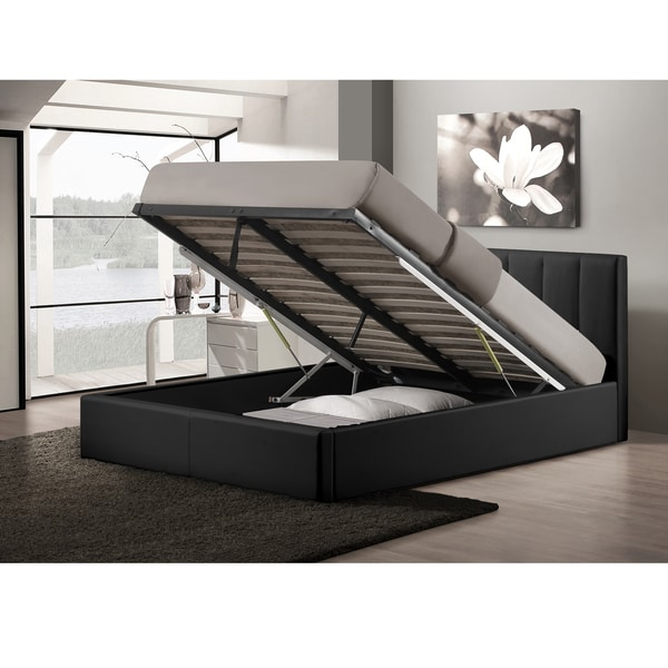 Overstock Full Storage Bed