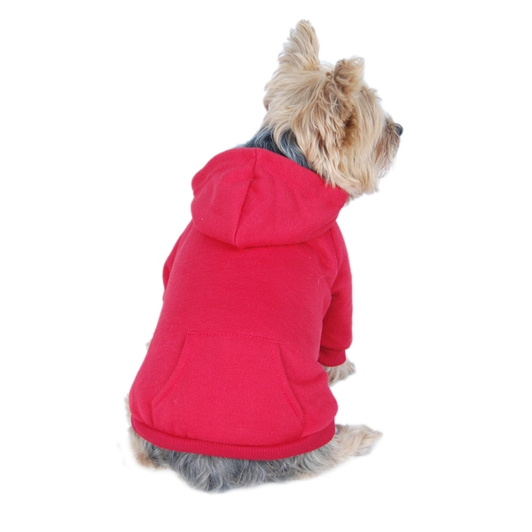 ANIMA Cotton Pullover Hoodie Sweatshirt for Pets (As Is Item)