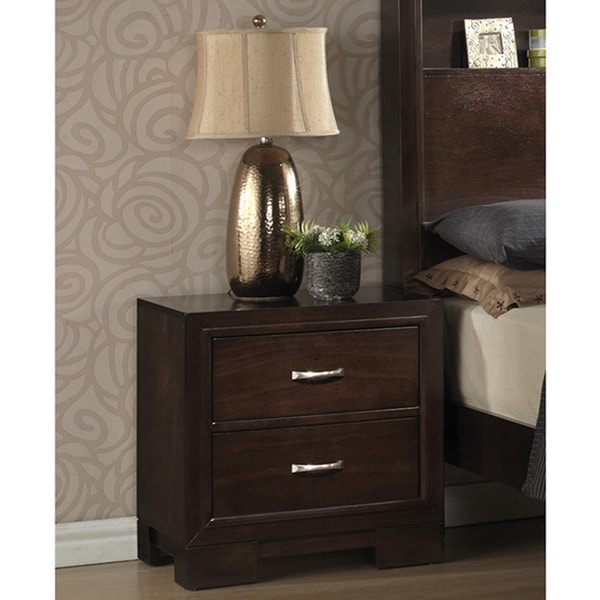 Helen Walnut Nightstand