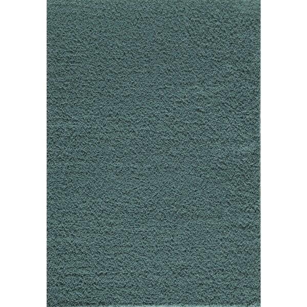 Orlando Solid Robin Blue 700C Area Rug (6'6 x 9'6)
