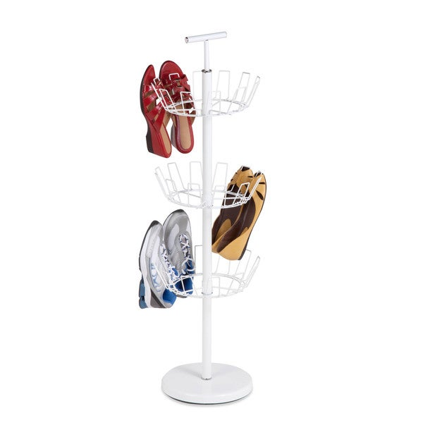 3-Tier White Shoe Tree