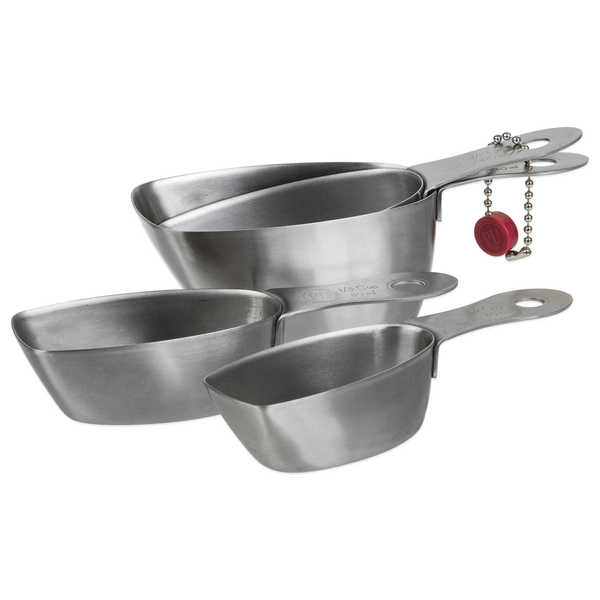 Progressive International Stainless Steel Measuring Cups 15218697