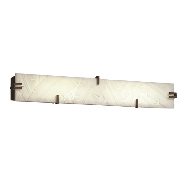 Justice Design Group Clips 28 inch LED Linear Bath Bar, Bronze