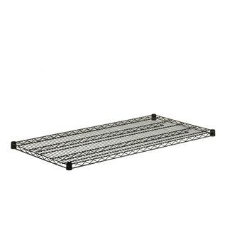 Steel Shelf 800-pound Black 24x48
