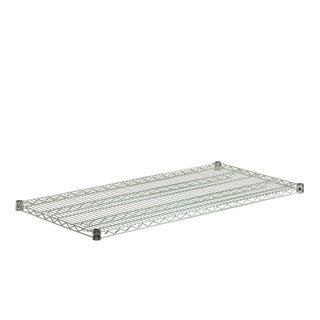 Steel Shelf 800-pound Chrome 24x48