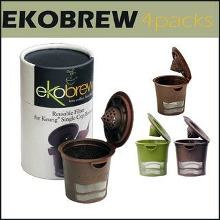 Ekobrew Refillable K-Cups 4-Pack
