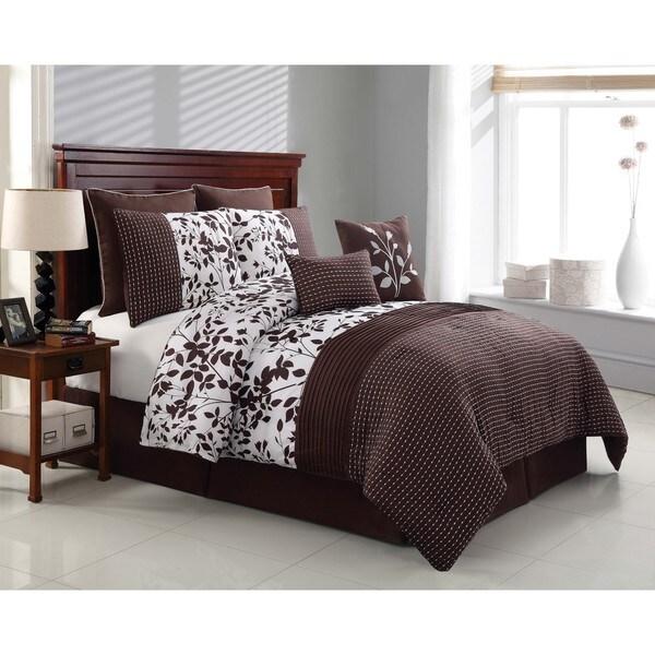 Shadow Vine 8-piece Comforter Set