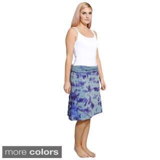Organic Cotton Tie-Dye Lotus Skirt (Nepal)