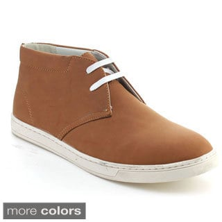 Alessio M916H Men's Casual Ankle Heel Chukka Lace Up Oxfords