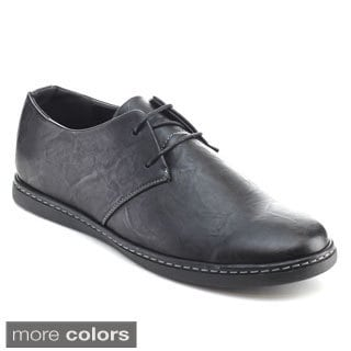 Alessio M843L Men's Low Top Lace Up Casual Oxfords