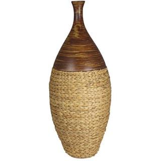 Water Hyancinth Ceramic Vase
