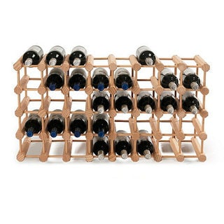 Wine Enthusiast Natural Modular 40-Bottle Wine Rack