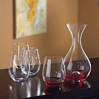 Wine Enthusiast U Decanter & Tumblers Gift Set