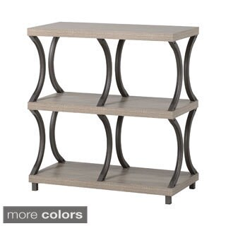 3-Shelf/4-Compartment Bookcase