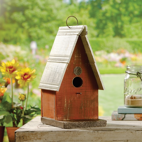 Apothecary Decorative Wooden Birdhouse