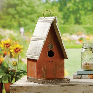 Apothecary Decorative Wooden Birdhouse