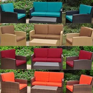 International Caravan Lisbon Corded Replacement Cushions (Set of 8)
