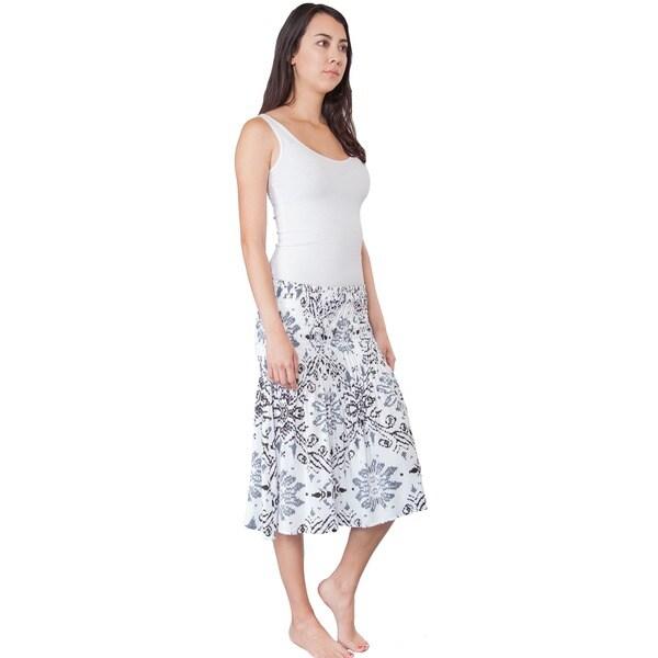 Handmade Summer Sunburst Floral Tube Top Dress (Nepal) 15220741