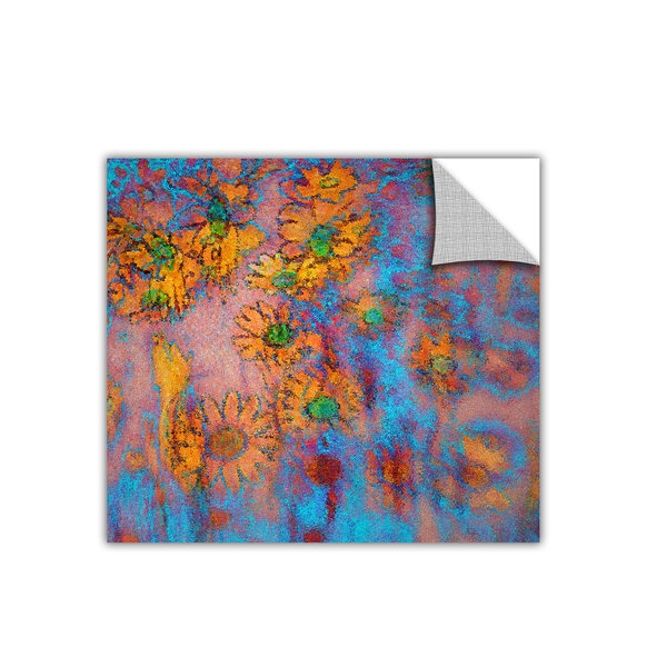 Dean Uhlinger Floral Thought, Art Appeelz Removable Wall Art Graphic