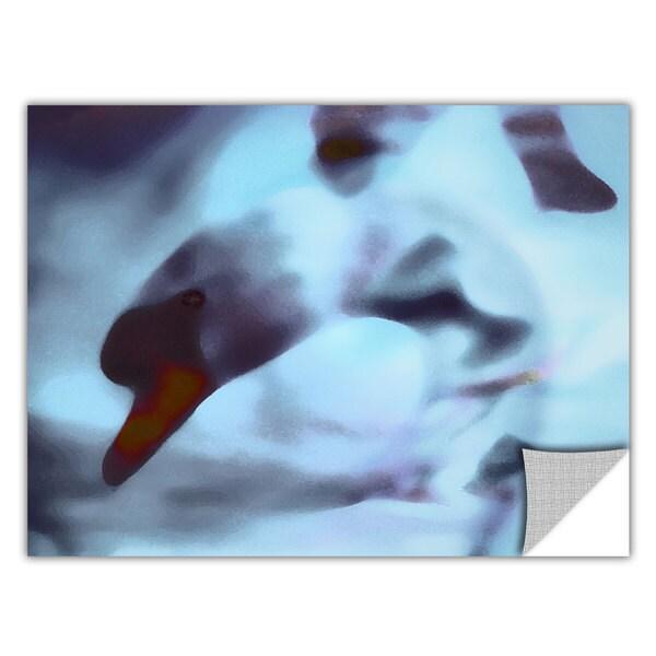 Dean Uhlinger Swan Impression, Art Appeelz Removable Wall Art Graphic