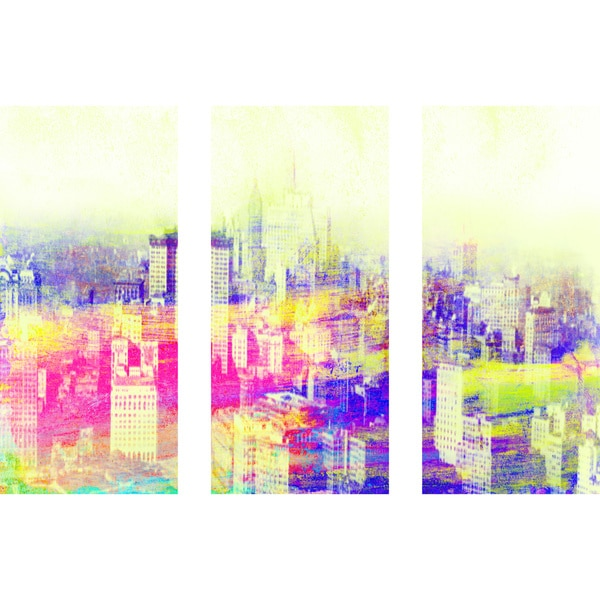 Marmont Hill 'All I Need Triptych' Canvas Art