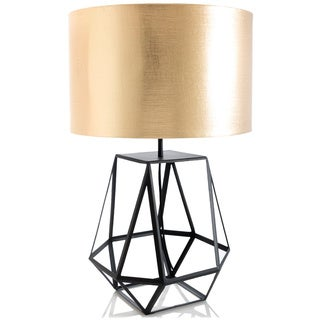 Rex Goldtone Table Lamp