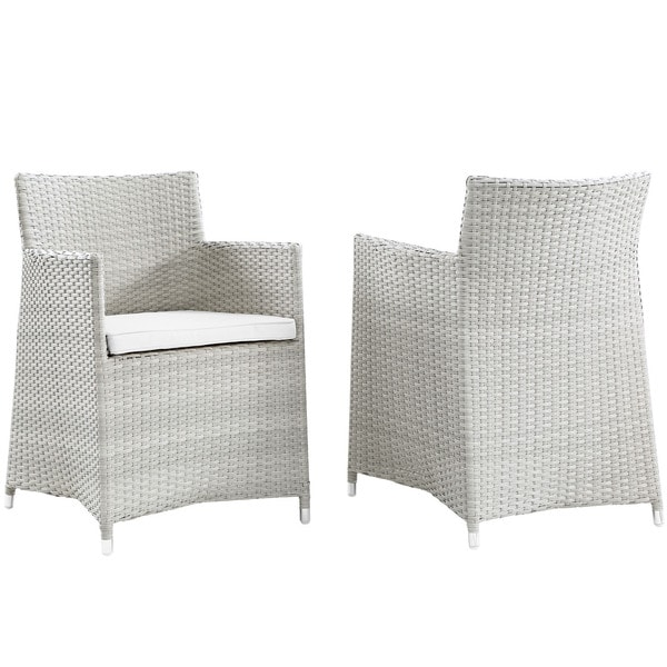 Juncture Armchair Outdoor Patio Wicker Chairs (Set of 2)