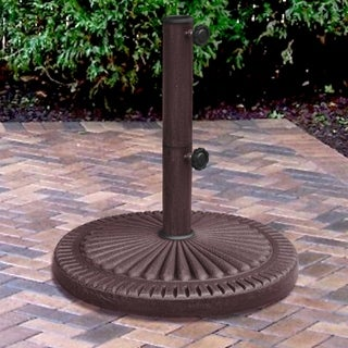 Weather Resistent 66 Pound Bronze Umbrella Base