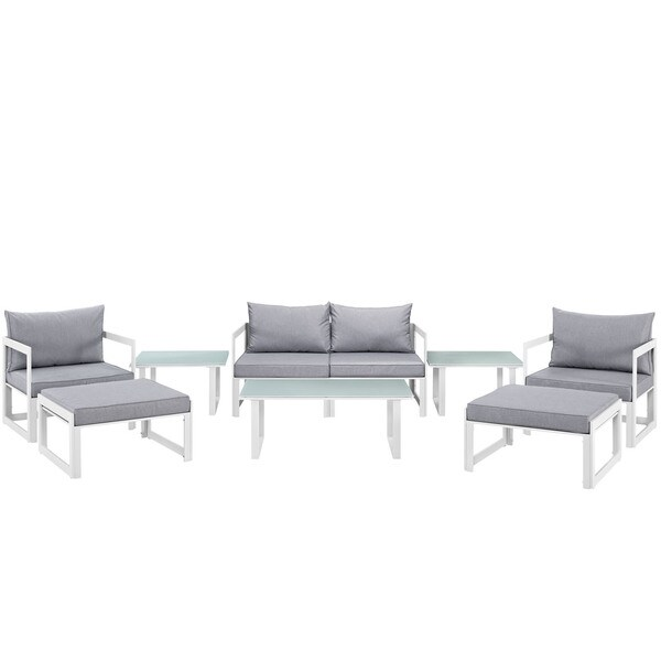 Chance 9-piece Outdoor Patio Sectional Sofa Set
