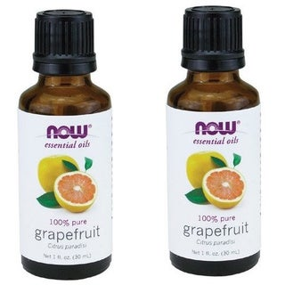 Now Foods 1-ounce Grapefruit Oil (Pack of 2)
