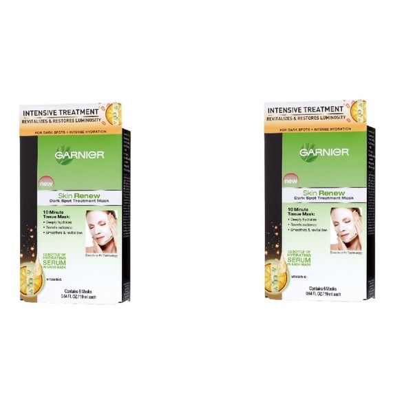 Garnier Dark Spot Treatment Mask (Pack of 2)