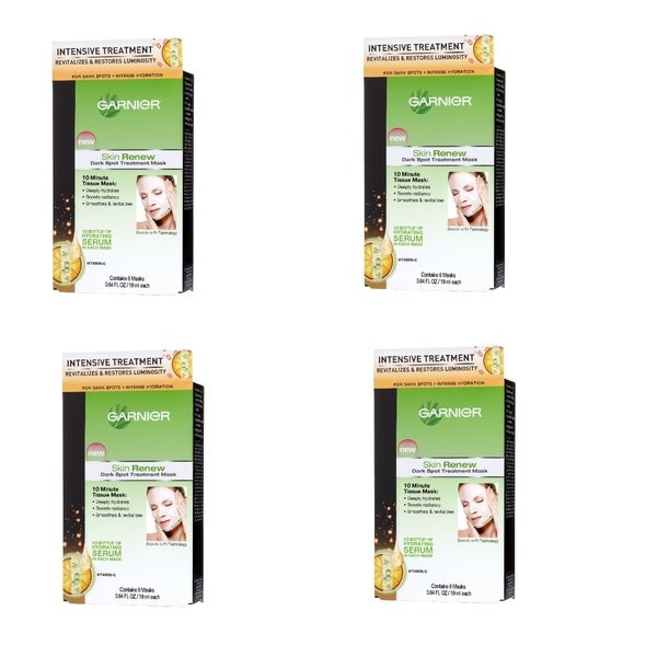 Garnier Dark Spot Treatment Mask (Pack of 4)