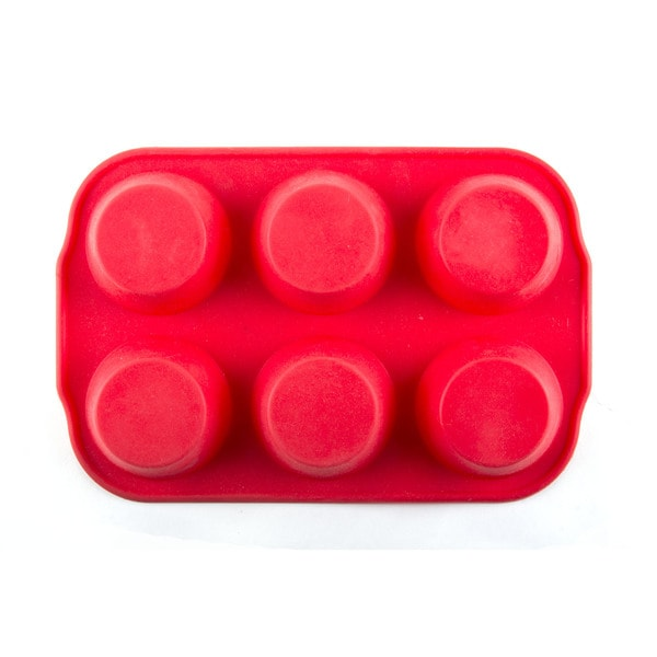 Silicone Rimmed Circle Mold/ Tray (Pack of 2)