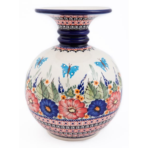 Polish Stoneware Andrea Vase