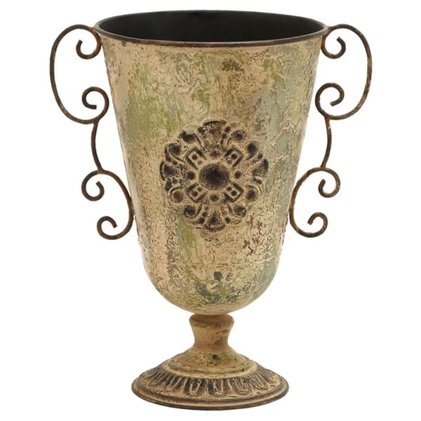 Greek Style Metal Vase