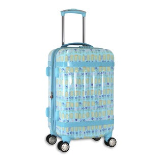 J World New York Taqoo Urban 20-inch Hardside Carry-on Spinner Upright Suitcase