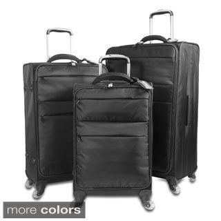 J World Kist 3-piece Lightweight Spinner Luggage Set