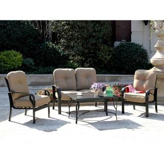 Sereno Bay 4-piece Cushioned Patio Set