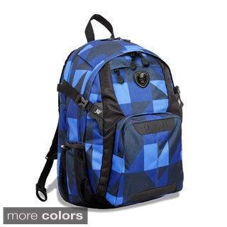 J World New York Haid Block 15-inch Laptop Backpack