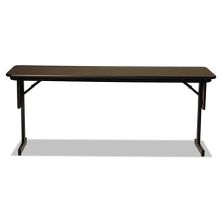 Alera Walnut High Pressure Laminate Top Seminar Tables