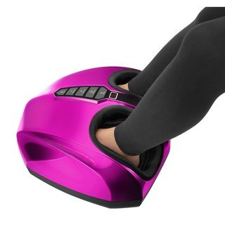 uComfy Shiatsu Purple Foot Massager